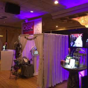 If you want to turn your photo booth to photography studio, you can with our pipe and drape enclosure.