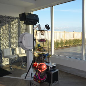 Our Venue Pro is the only photo booth of ours where your guests also have the option of recording a video message for you!
